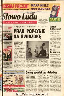 Słowo Ludu 2002 R.LIV, nr 294 (Ponidzie, Jędrzejów, Włoszczowa,Sandomierz, Staszów, Opatów)