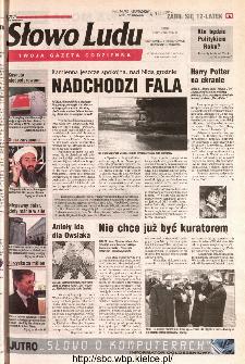 Słowo Ludu 2002 R.LIV, nr 7 (Ostrowiec, Starachowice, Skarżysko, Końskie)