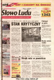Słowo Ludu 2002 R.LIV, nr 12 (Ostrowiec, Starachowice, Skarżysko, Końskie)