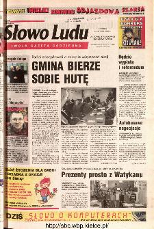 Słowo Ludu 2002 R.LIV, nr 14 (Ostrowiec, Starachowice, Skarżysko, Końskie)