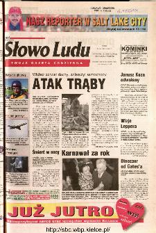 Słowo Ludu 2002 R.LIV, nr 37 (Ostrowiec, Starachowice, Skarżysko, Końskie)
