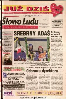 Słowo Ludu 2002 R.LIV, nr 38 (Ostrowiec, Starachowice, Skarżysko, Końskie)