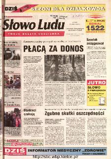 Słowo Ludu 2002 R.LIV, nr 60 (Ostrowiec, Starachowice, Skarżysko, Końskie)