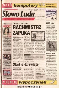Słowo Ludu 2002 R.LIV, nr 106 (Ostrowiec, Starachowice, Skarżysko, Końskie)