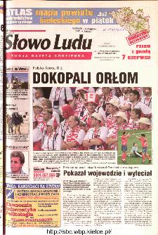 Słowo Ludu 2002 R.LIV, nr 128 (Ostrowiec, Starachowice, Skarżysko, Końskie)
