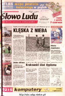 Słowo Ludu 2002 R.LIV, nr 129 (Ostrowiec, Starachowice, Skarżysko, Końskie)