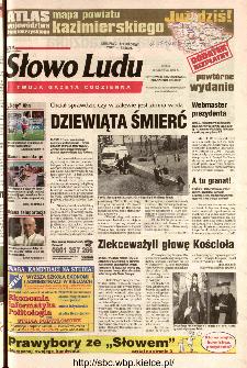 Słowo Ludu 2002 R.LIV, nr 140 (Ostrowiec, Starachowice, Skarżysko, Końskie)