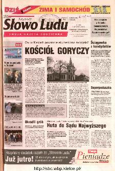 Słowo Ludu 2002 R.LIV, nr 257 (Ostrowiec, Starachowice, Skarżysko, Końskie)