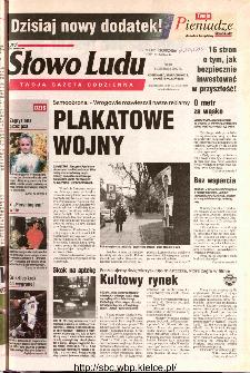 Słowo Ludu 2002 R.LIV, nr 258 (Ostrowiec, Starachowice, Skarżysko, Końskie)