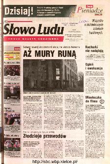 Słowo Ludu 2002 R.LIV, nr 263 (Ostrowiec, Starachowice, Skarżysko, Końskie)