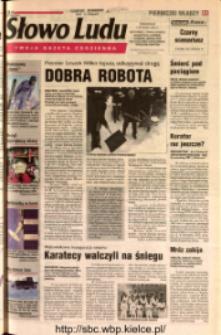 Słowo Ludu 2002 R.LIV, nr 5 (Ostrowiec, Starachowice, Skarżysko, Końskie, Ponidzie, Jędrzejów, Włoszczowa, Sandomierz, Staszów, Opatów)