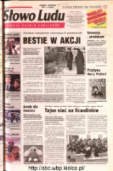 Słowo Ludu 2002 R.LIV, nr 10 (Ostrowiec, Starachowice, Skarżysko, Końskie, Ponidzie, Jędrzejów, Włoszczowa, Sandomierz, Staszów, Opatów)