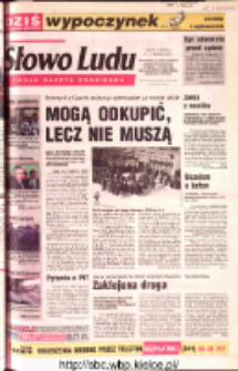 Słowo Ludu 2002 R.LIV, nr 64 (Ostrowiec, Starachowice, Skarżysko, Końskie, Ponidzie, Jędrzejów, Włoszczowa, Sandomierz, Staszów, Opatów)