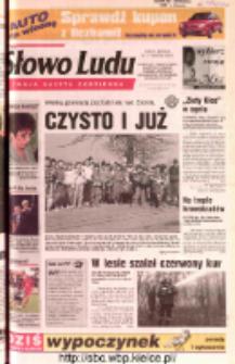 Słowo Ludu 2002 R.LIV, nr 92 (Ostrowiec, Starachowice, Skarżysko, Końskie, Ponidzie, Jędrzejów, Włoszczowa, Sandomierz, Staszów, Opatów)
