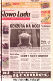 Słowo Ludu 2002 R.LIV, nr 98 (Ostrowiec, Starachowice, Skarżysko, Końskie, Ponidzie, Jędrzejów, Włoszczowa, Sandomierz, Staszów, Opatów)