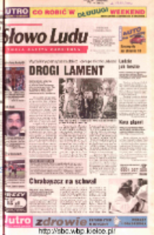 Słowo Ludu 2002 R.LIV, nr 99 (Ostrowiec, Starachowice, Skarżysko, Końskie, Ponidzie, Jędrzejów, Włoszczowa, Sandomierz, Staszów, Opatów)