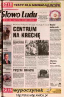 Słowo Ludu 2002 R.LIV, nr 108 (Ostrowiec, Starachowice, Skarżysko, Końskie, Ponidzie, Jędrzejów, Włoszczowa, Sandomierz, Staszów, Opatów)