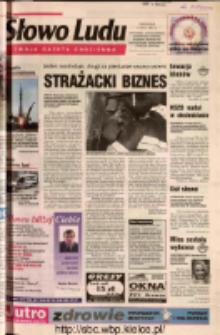 Słowo Ludu 2002 R.LIV, nr 109 (Ostrowiec, Starachowice, Skarżysko, Końskie, Ponidzie, Jędrzejów, Włoszczowa, Sandomierz, Staszów, Opatów)