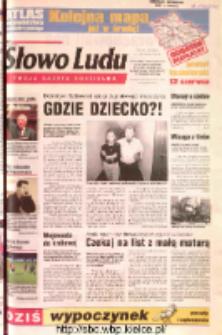Słowo Ludu 2002 R.LIV, nr 131 (Ostrowiec, Starachowice, Skarżysko, Końskie, Ponidzie, Jędrzejów, Włoszczowa, Sandomierz, Staszów, Opatów)