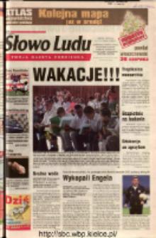 Słowo Ludu 2002 R.LIV, nr 143 (Ostrowiec, Starachowice, Skarżysko, Końskie, Ponidzie, Jędrzejów, Włoszczowa, Sandomierz, Staszów, Opatów)