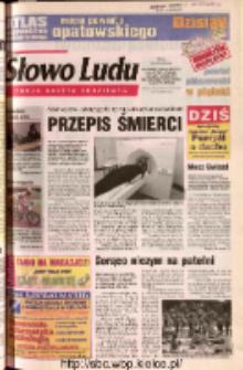 Słowo Ludu 2002 R.LIV, nr 158 (Ostrowiec, Starachowice, Skarżysko, Końskie, Ponidzie, Jędrzejów, Włoszczowa, Sandomierz, Staszów, Opatów)