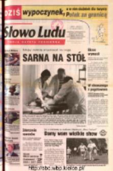 Słowo Ludu 2002 R.LIV, nr 161 (Ostrowiec, Starachowice, Skarżysko, Końskie, Ponidzie, Jędrzejów, Włoszczowa, Sandomierz, Staszów, Opatów)