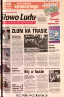 Słowo Ludu 2002 R.LIV, nr 163 (Ostrowiec, Starachowice, Skarżysko, Końskie, Ponidzie, Jędrzejów, Włoszczowa, Sandomierz, Staszów, Opatów)