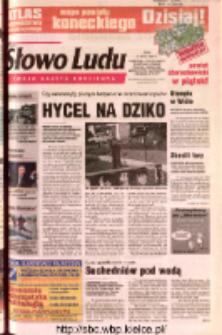Słowo Ludu 2002 R.LIV, nr 164 (Ostrowiec, Starachowice, Skarżysko, Końskie, Ponidzie, Jędrzejów, Włoszczowa, Sandomierz, Staszów, Opatów)