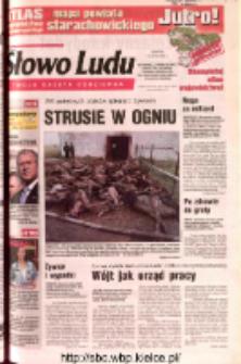 Słowo Ludu 2002 R.LIV, nr 165 (Ostrowiec, Starachowice, Skarżysko, Końskie, Ponidzie, Jędrzejów, Włoszczowa, Sandomierz, Staszów, Opatów)