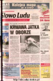 Słowo Ludu 2002 R.LIV, nr 168 (Ostrowiec, Starachowice, Skarżysko, Końskie, Ponidzie, Jędrzejów, Włoszczowa, Sandomierz, Staszów, Opatów)