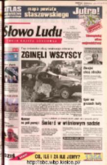 Słowo Ludu 2002 R.LIV, nr 169 (Ostrowiec, Starachowice, Skarżysko, Końskie, Ponidzie, Jędrzejów, Włoszczowa, Sandomierz, Staszów, Opatów)
