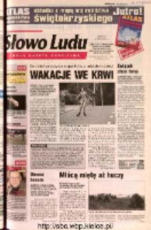 Słowo Ludu 2002 R.LIV, nr 171 (Ostrowiec, Starachowice, Skarżysko, Końskie, Ponidzie, Jędrzejów, Włoszczowa, Sandomierz, Staszów, Opatów)