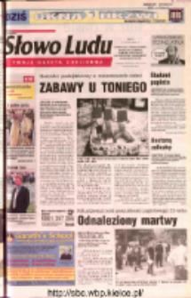 Słowo Ludu 2002 R.LIV, nr 176 (Ostrowiec, Starachowice, Skarżysko, Końskie, Ponidzie, Jędrzejów, Włoszczowa, Sandomierz, Staszów, Opatów)