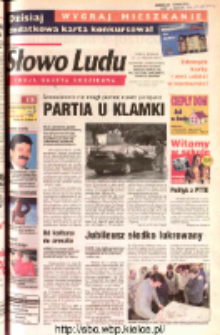 Słowo Ludu 2002 R.LIV, nr 226 (Ostrowiec, Starachowice, Skarżysko, Końskie, Ponidzie, Jędrzejów, Włoszczowa, Sandomierz, Staszów, Opatów)