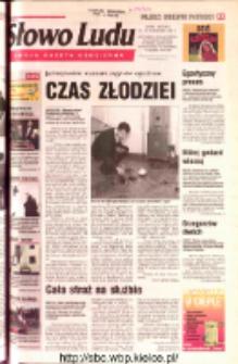 Słowo Ludu 2002 R.LIV, nr 244 (Ostrowiec, Starachowice, Skarżysko, Końskie, Ponidzie, Jędrzejów, Włoszczowa, Sandomierz, Staszów, Opatów)