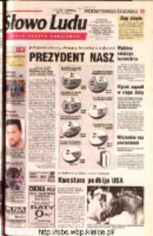 Słowo Ludu 2002 R.LIV, nr 245 (Ostrowiec, Starachowice, Skarżysko, Końskie, Ponidzie, Jędrzejów, Włoszczowa, Sandomierz, Staszów, Opatów)