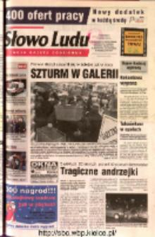 Słowo Ludu 2002 R.LIV, nr 279 (Ostrowiec, Starachowice, Skarżysko, Końskie, Ponidzie, Jędrzejów, Włoszczowa, Sandomierz, Staszów, Opatów)