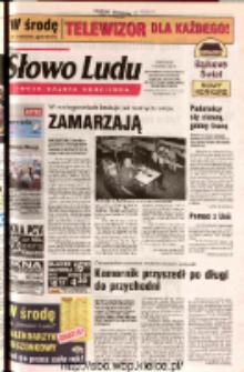 Słowo Ludu 2002 R.LIV, nr 285 (Ostrowiec, Starachowice, Skarżysko, Końskie, Ponidzie, Jędrzejów, Włoszczowa, Sandomierz, Staszów, Opatów)