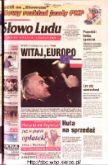 Słowo Ludu 2002 R.LIV, nr 291 (Ostrowiec, Starachowice, Skarżysko, Końskie, Ponidzie, Jędrzejów, Włoszczowa, Sandomierz, Staszów, Opatów)