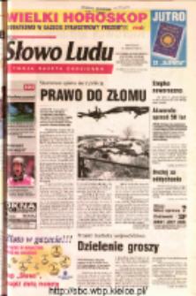 Słowo Ludu 2002 R.LIV, nr 300 (Ostrowiec, Starachowice, Skarżysko, Końskie, Ponidzie, Jędrzejów, Włoszczowa, Sandomierz, Staszów, Opatów)