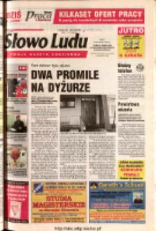 Słowo Ludu 2003 R.LIV, nr 24 (Ponidzie, Jędrzejów, Włoszczowa, Sandomierz, Staszów, Opatów)