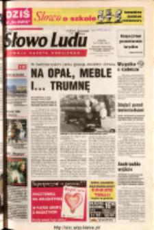 Słowo Ludu 2003 R.LIV, nr 25 (Ponidzie, Jędrzejów, Włoszczowa, Sandomierz, Staszów, Opatów)