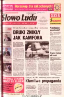 Słowo Ludu 2003 R.LIV, nr 35 (Ponidzie, Jędrzejów, Włoszczowa, Sandomierz, Staszów, Opatów)