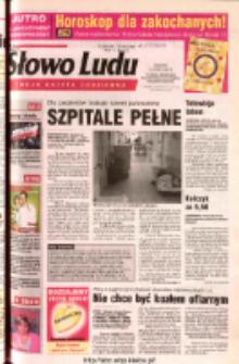Słowo Ludu 2003 R.LIV, nr 37 (Ponidzie, Jędrzejów, Włoszczowa, Sandomierz, Staszów, Opatów)