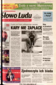 Słowo Ludu 2003 R.LIV, nr 60 (Ponidzie, Jędrzejów, Włoszczowa, Sandomierz, Staszów, Opatów)