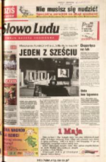 Słowo Ludu 2003 R.LIV, nr 100 (Ponidzie, Jędrzejów, Włoszczowa, Sandomierz, Staszów, Opatów)