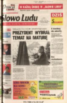 Słowo Ludu 2003 R.LIV, nr 103 (Ponidzie, Jędrzejów, Włoszczowa, Sandomierz, Staszów, Opatów)