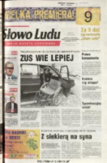 Słowo Ludu 2003 R.LIV, nr 105 (Ponidzie, Jędrzejów, Włoszczowa, Sandomierz, Staszów, Opatów)