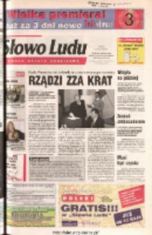 Słowo Ludu 2003 R.LIV, nr 109 (Ponidzie, Jędrzejów, Włoszczowa, Sandomierz, Staszów, Opatów)