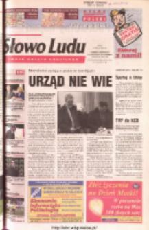 Słowo Ludu 2003 R.LIV, nr 116 (Ponidzie, Jędrzejów, Włoszczowa, Sandomierz, Staszów, Opatów)